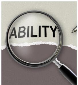 Focus on the Ability